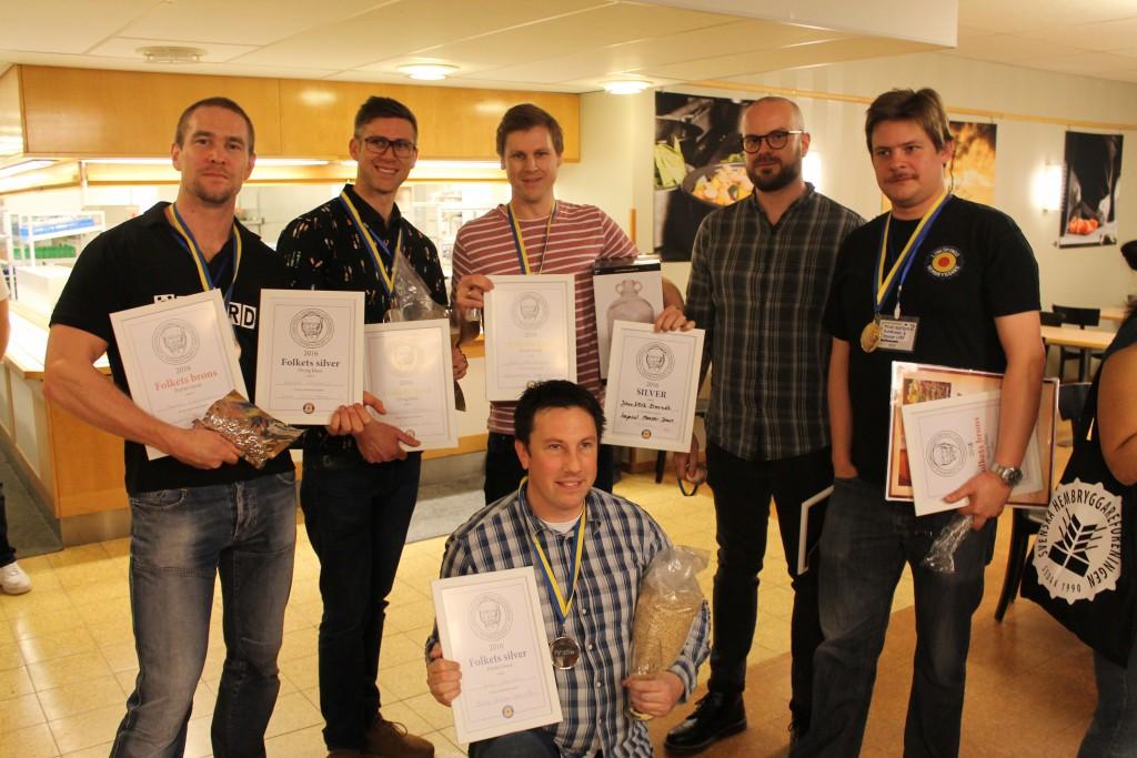 Medaljörer vinterträffen 2016